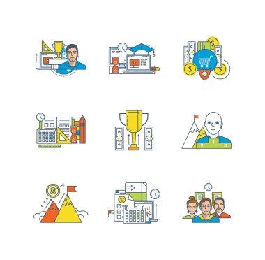 Business, management, education, leadership qualities, school disciplines, purpose, motivation, teamwork