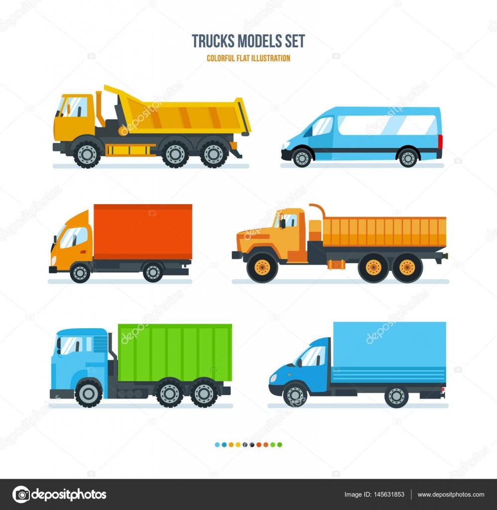 Camiones para el transporte de mercancías, gacela, coche para ...
