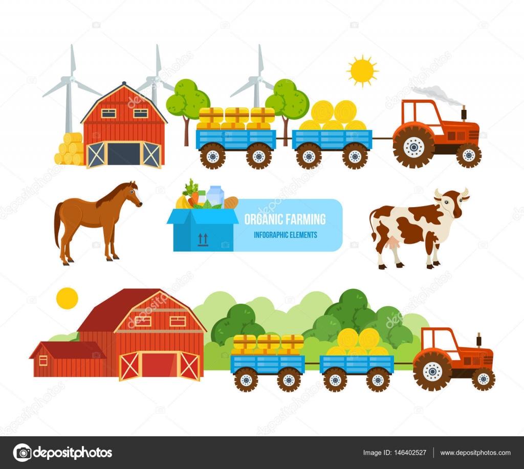 Warehouse, farmland, pets, conveying hay, wheat, natural