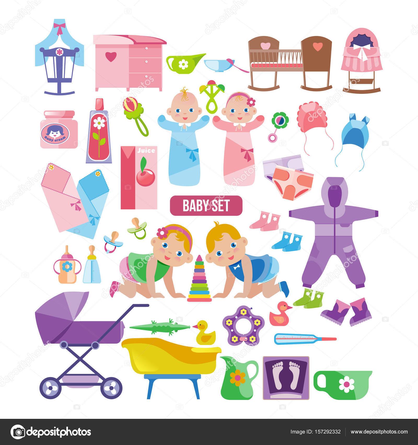 Los niños ropa, juguetes, ropa, cosas para los recién nacidos ...