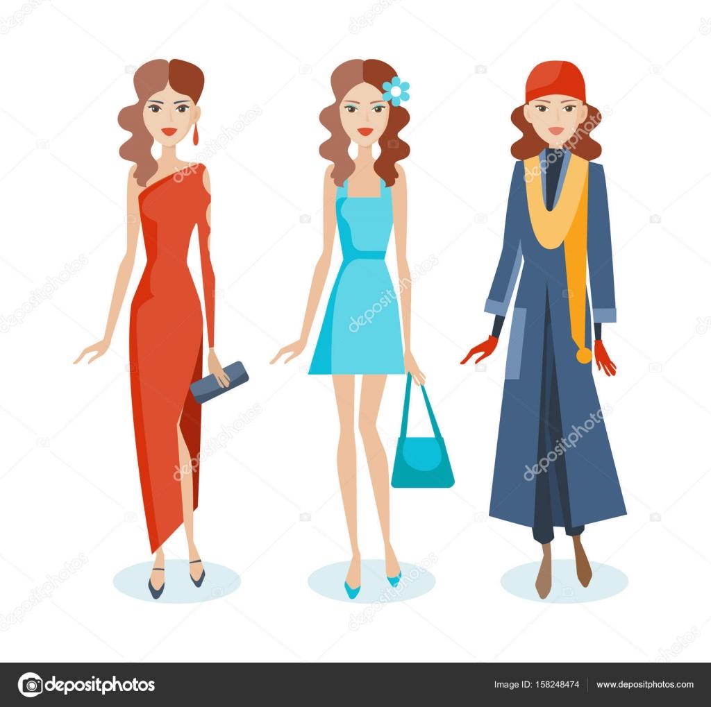 3badda351 Juego de niñas en vestidos, vestidos, ropa de otoño, con accesorios ...