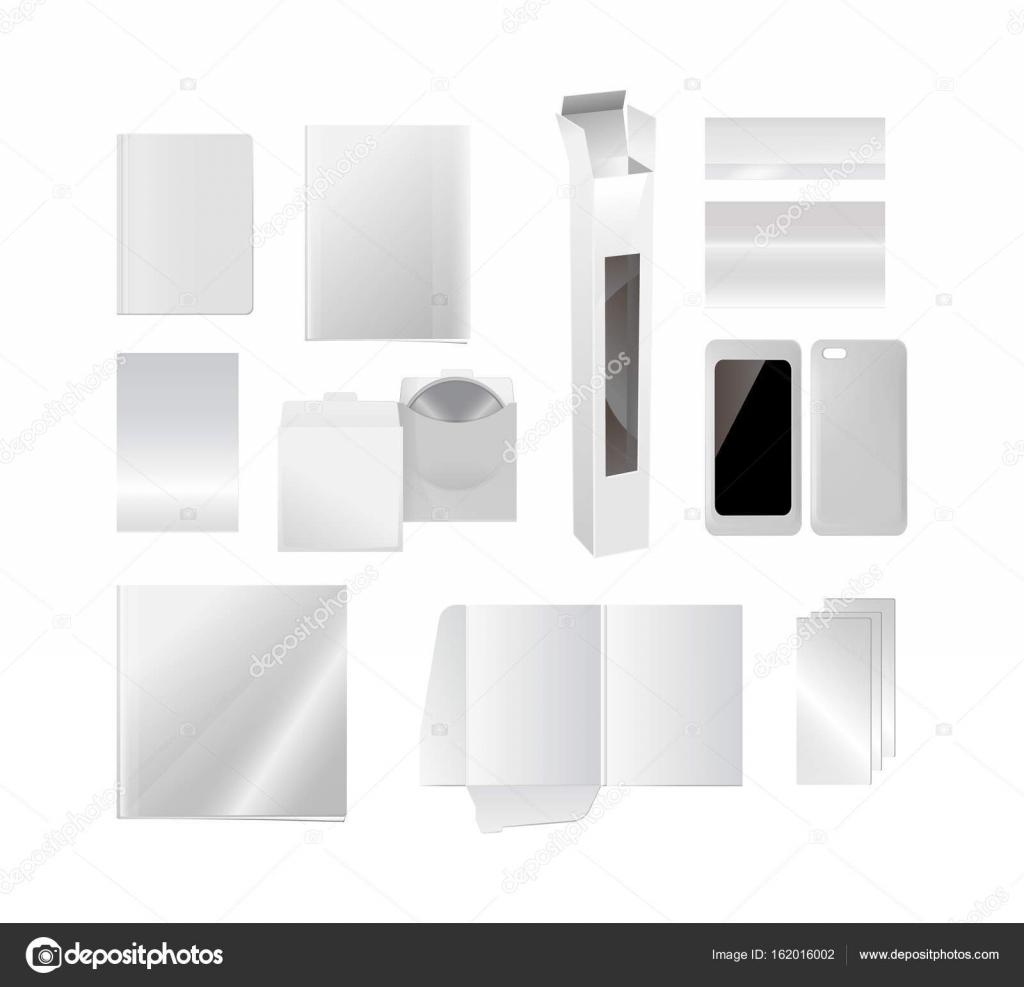 Realistische Vorlage des Covers für Bücher, Karten, Kataloge ...