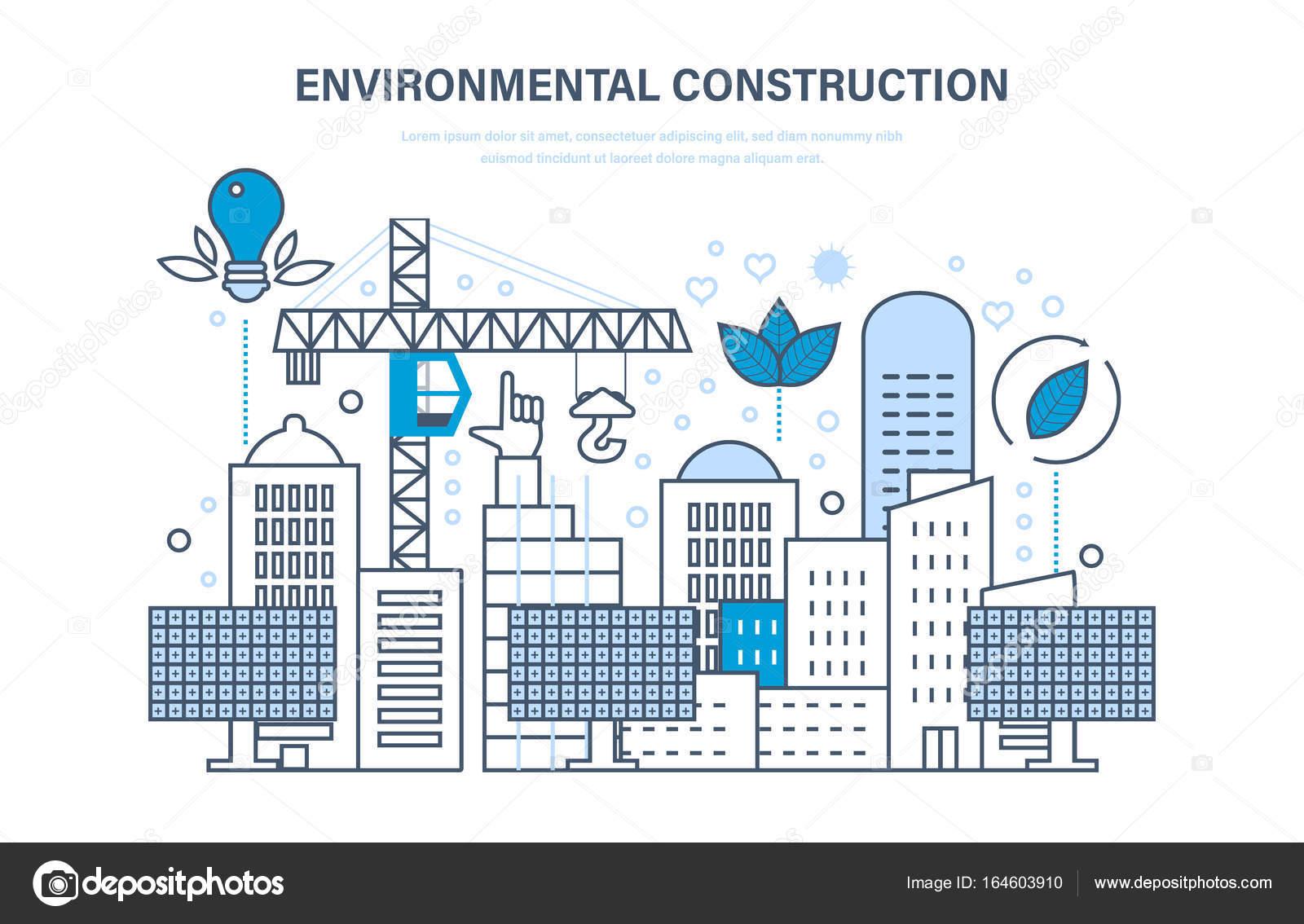 Imágenes Ingenieria Ambiental Para Colorear Construcción