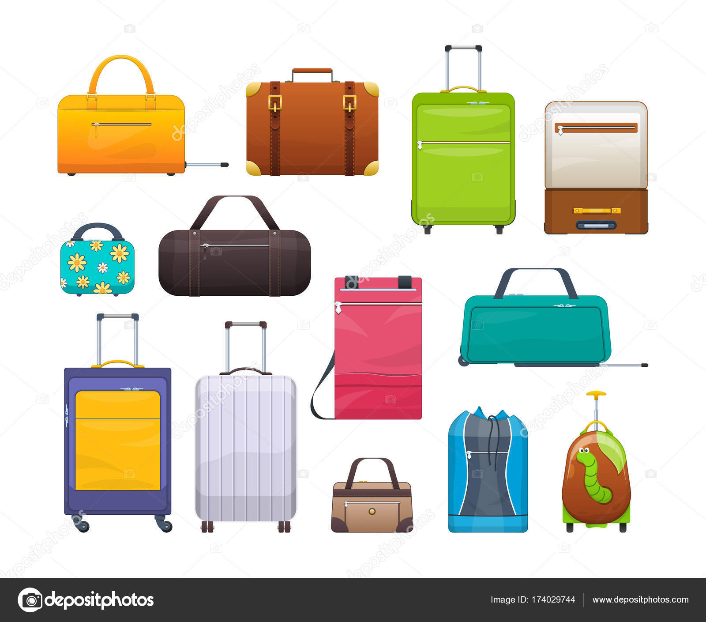 9080e69cb3c7 Коллекция различных сумки, чемоданы, багажа. Пластик, металл, кожа ...