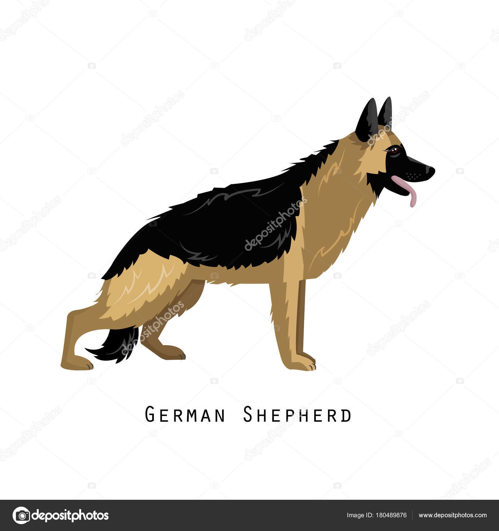 amigo peludo humano casa animal e decorativo cachorro pastor
