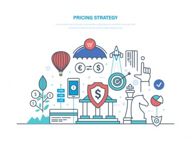 Pricing strategy. Marketing politics, competition in market economy, profit, growth.