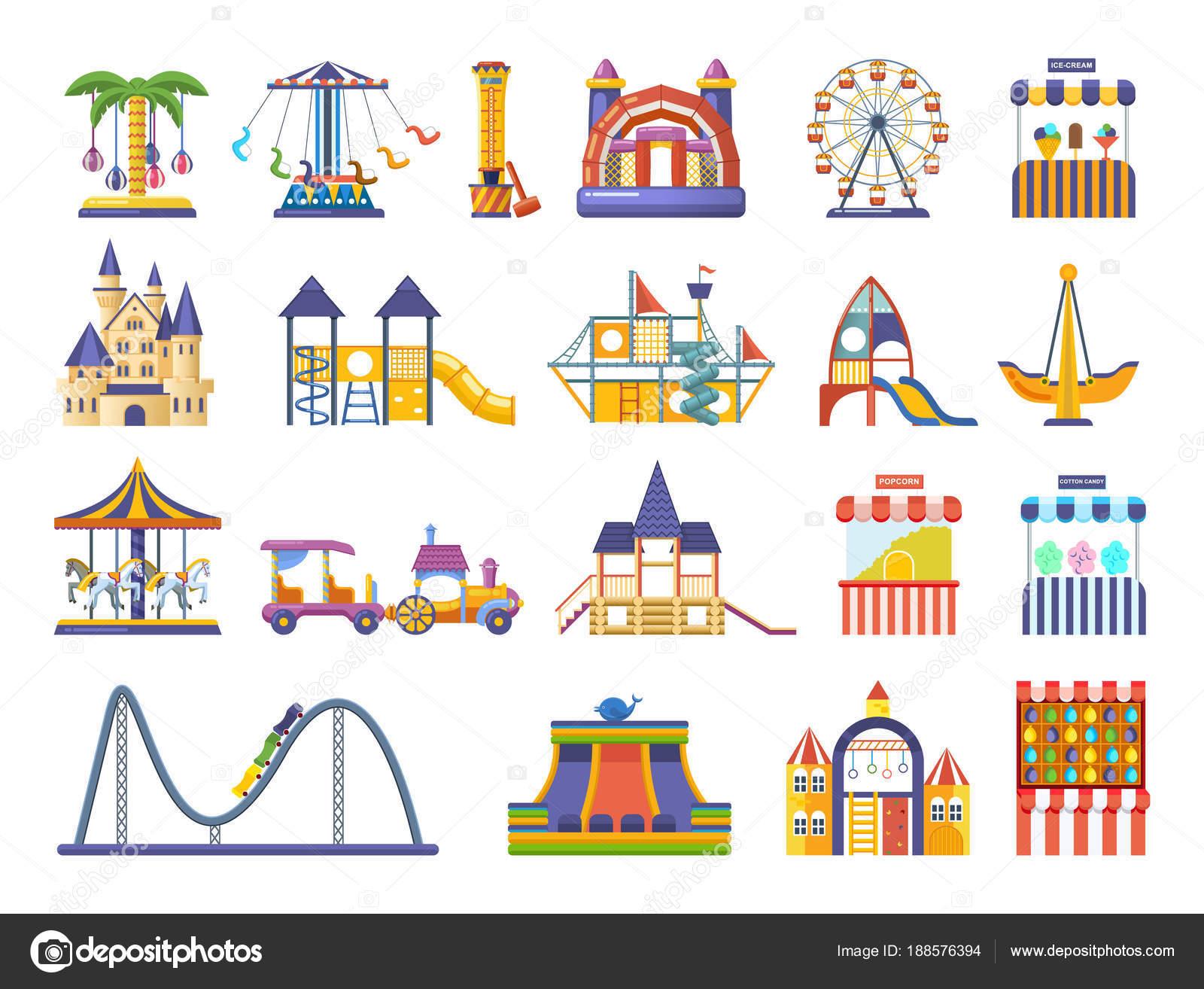 Juego Infantiles Para Descargar Parque De Atracciones S Los Ninos