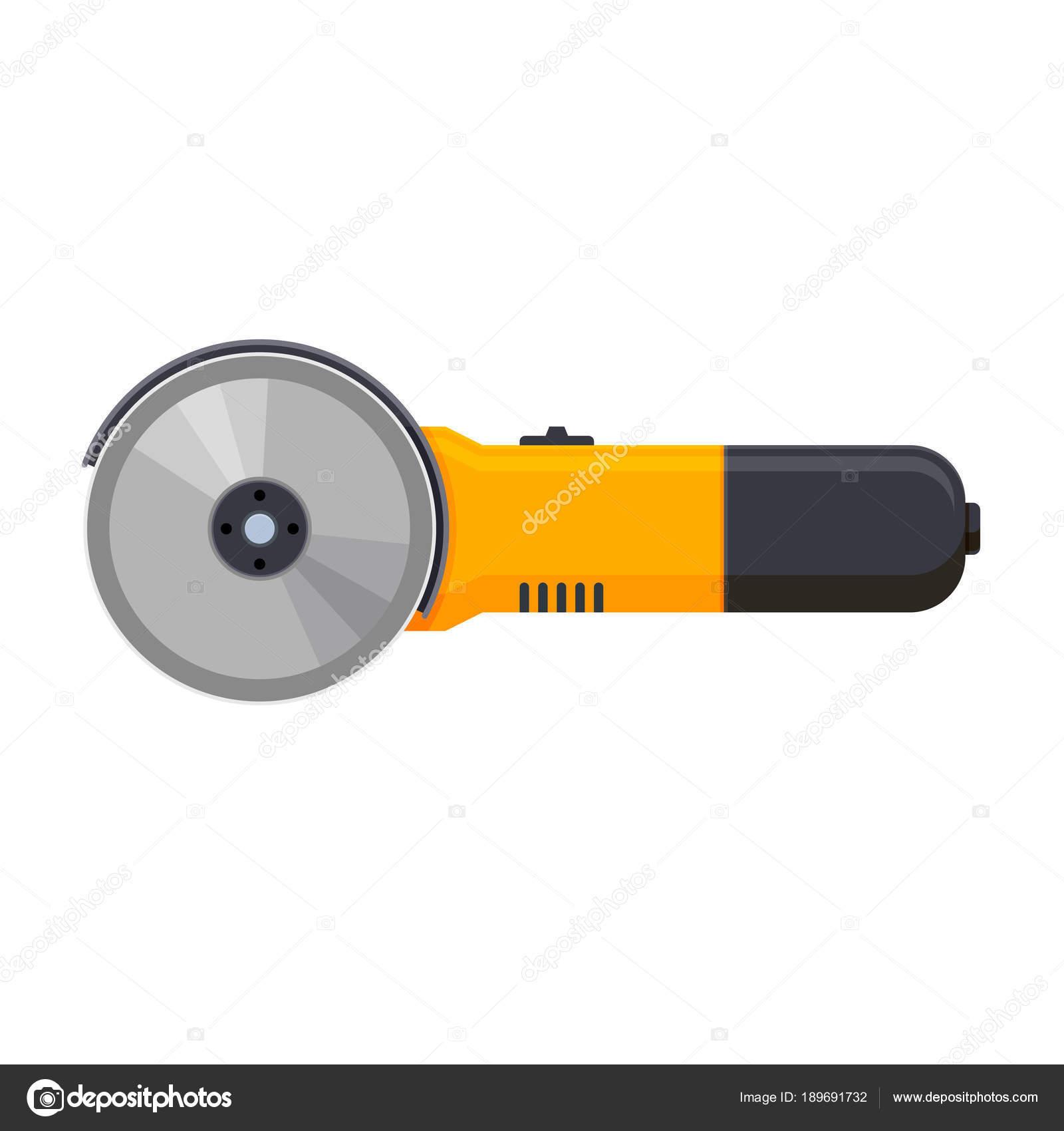 Moderna herramienta de trabajo, manual, eléctrica la sierra circular ...