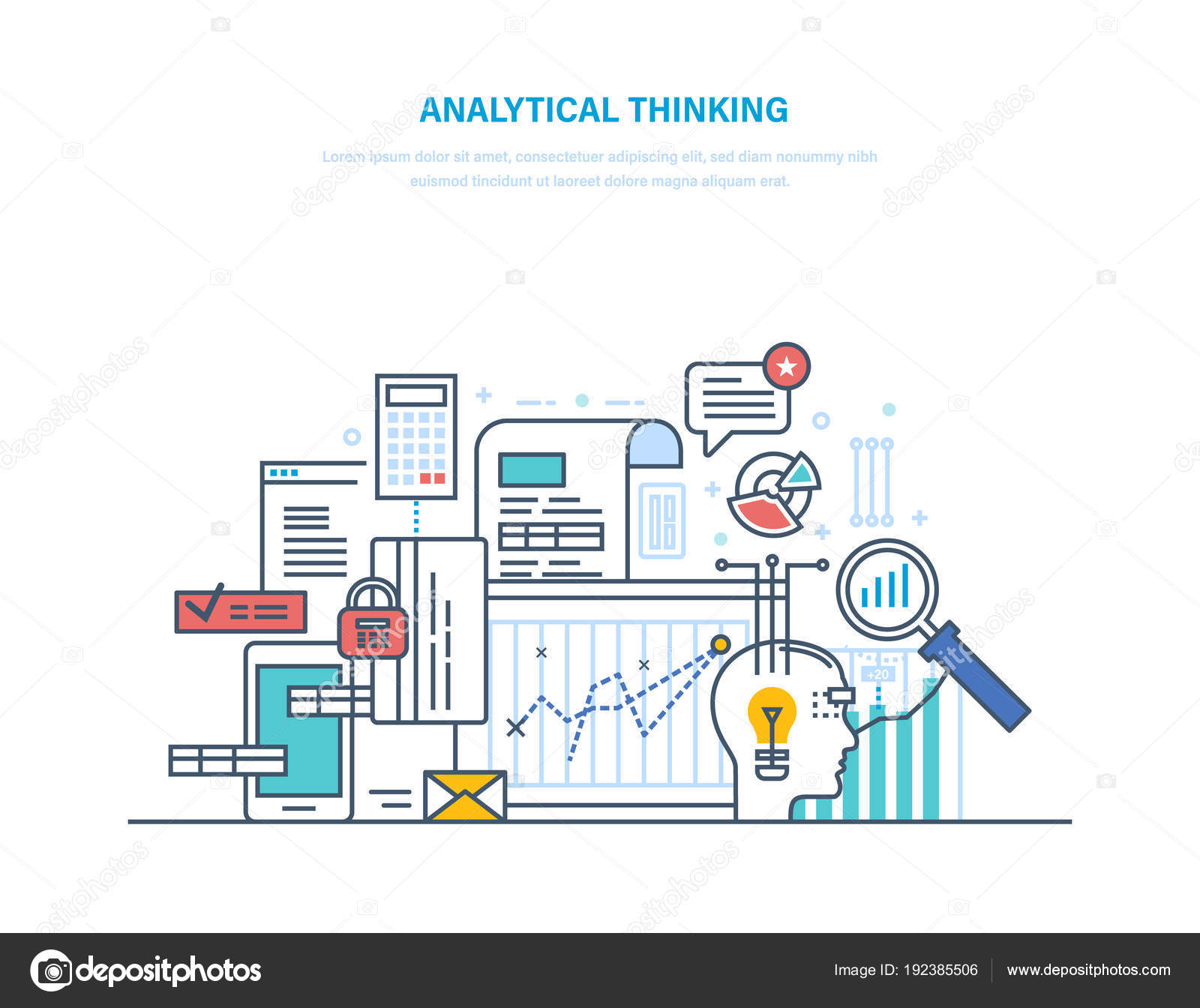 Analytical thinking logical analysis reasoning searching analytical thinking logical analysis and reasoning searching for effective optimal solution in situations creative thinking generation of creative ideas ccuart Gallery