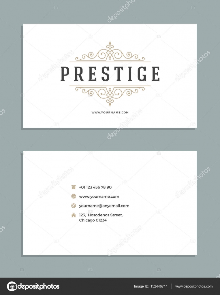 Vintage ornament business card vector template stock vector vintage ornament business card vector template stock vector reheart Choice Image