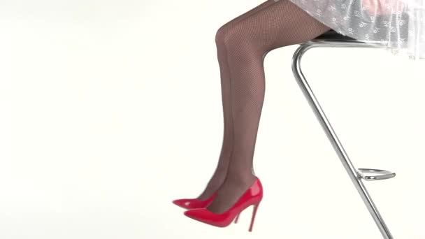 Zenske nohy na vysokých podpatcích