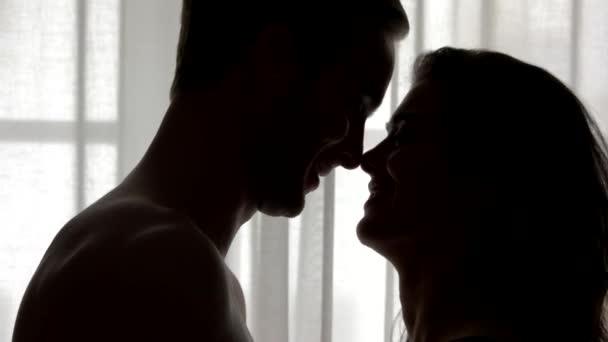 Küsse im Dunkeln.