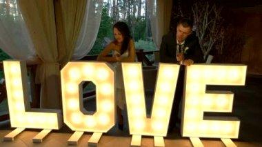 Love light letters.