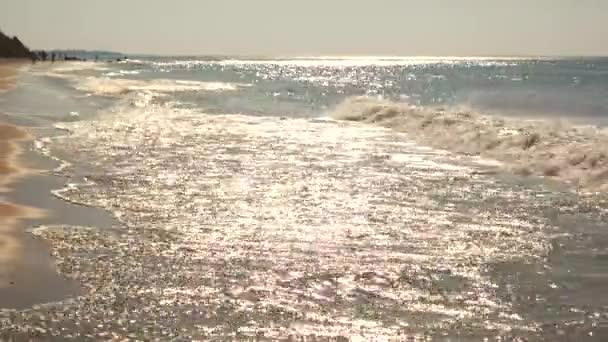 Beautiful waves with sun shine.