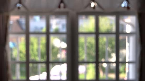 Rozmazané okna, interiér