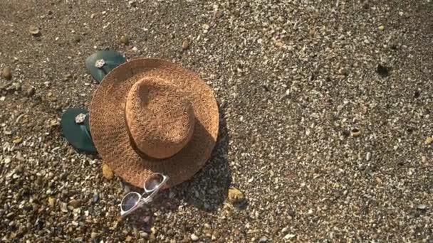 Kalap a tengerparton, felülnézet