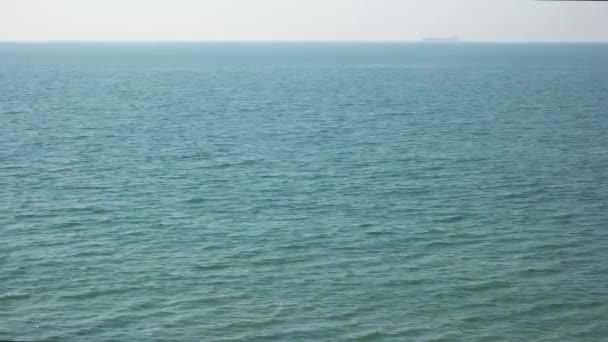 moře a horizont.