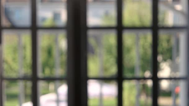 Rozmazané okenní rámy vnitřní
