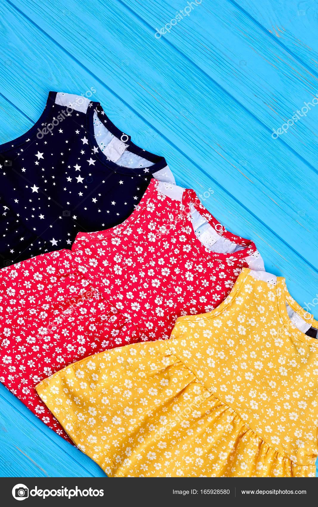 1c5753a5d Roupas de verão bebê estilo vintage — Stock Photo © Denisfilm  165928580
