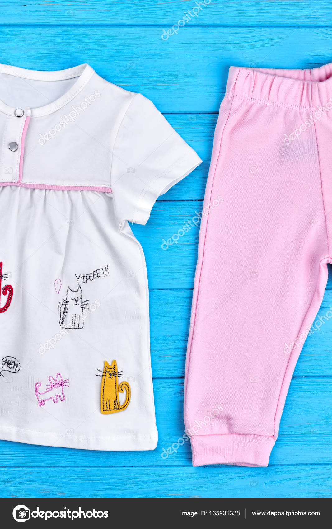 df81a700914a Toddler girl natural summer garment. — Stock Photo © Denisfilm ...