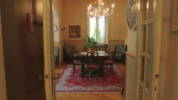 Interiér starožitným domu