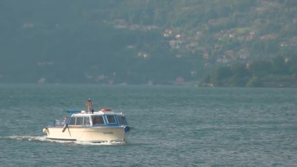 Small tourist boat, Italy.