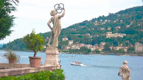 Isola Bella garden statue.