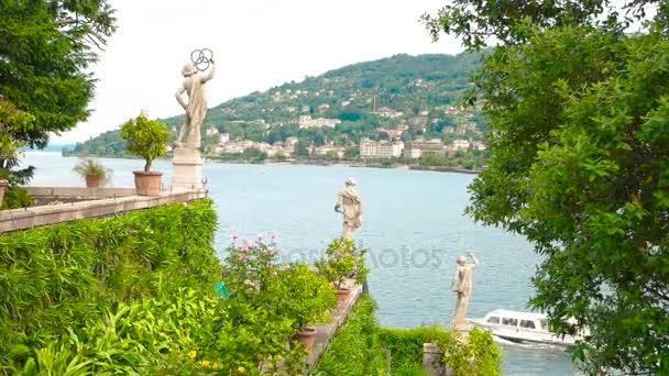 Blick auf den Garten Isola Bella