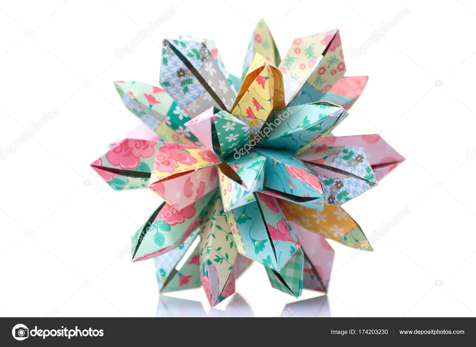Erstaunliche Blume Origami design — Stockfoto © Denisfilm #174203230