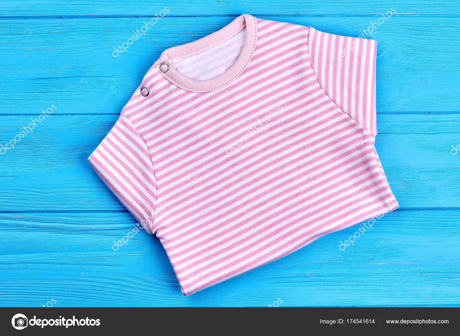 0381b0f6c Beautiful soft shirt for baby-girl. — Stock Photo © Denisfilm  174541614