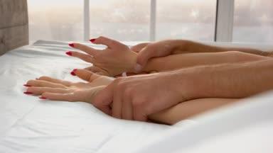 Passionate couple sex video, choke a cock