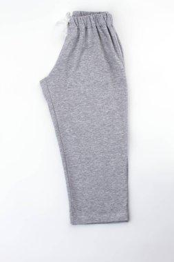 Pants folded in half