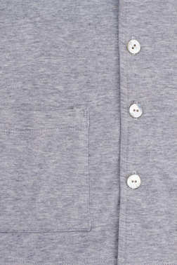 Buttons and pocket on shirt