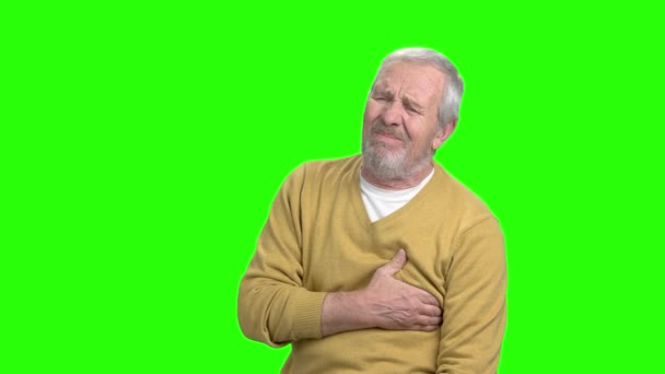 uomo anziano avere attacco cardiaco
