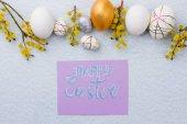 A húsvéti tojás és a punci fűzfa összetétele