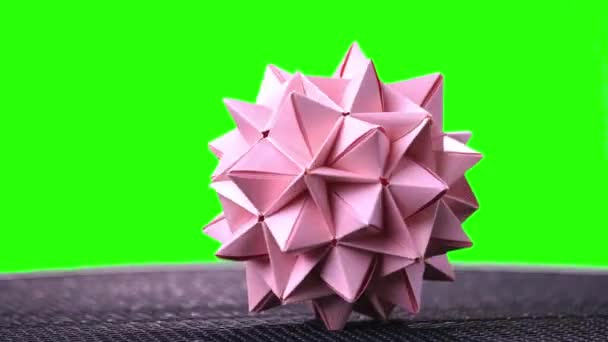 Origami ✿ Revealed Flower ✿ ( PopUp Star) - YouTube | 342x608