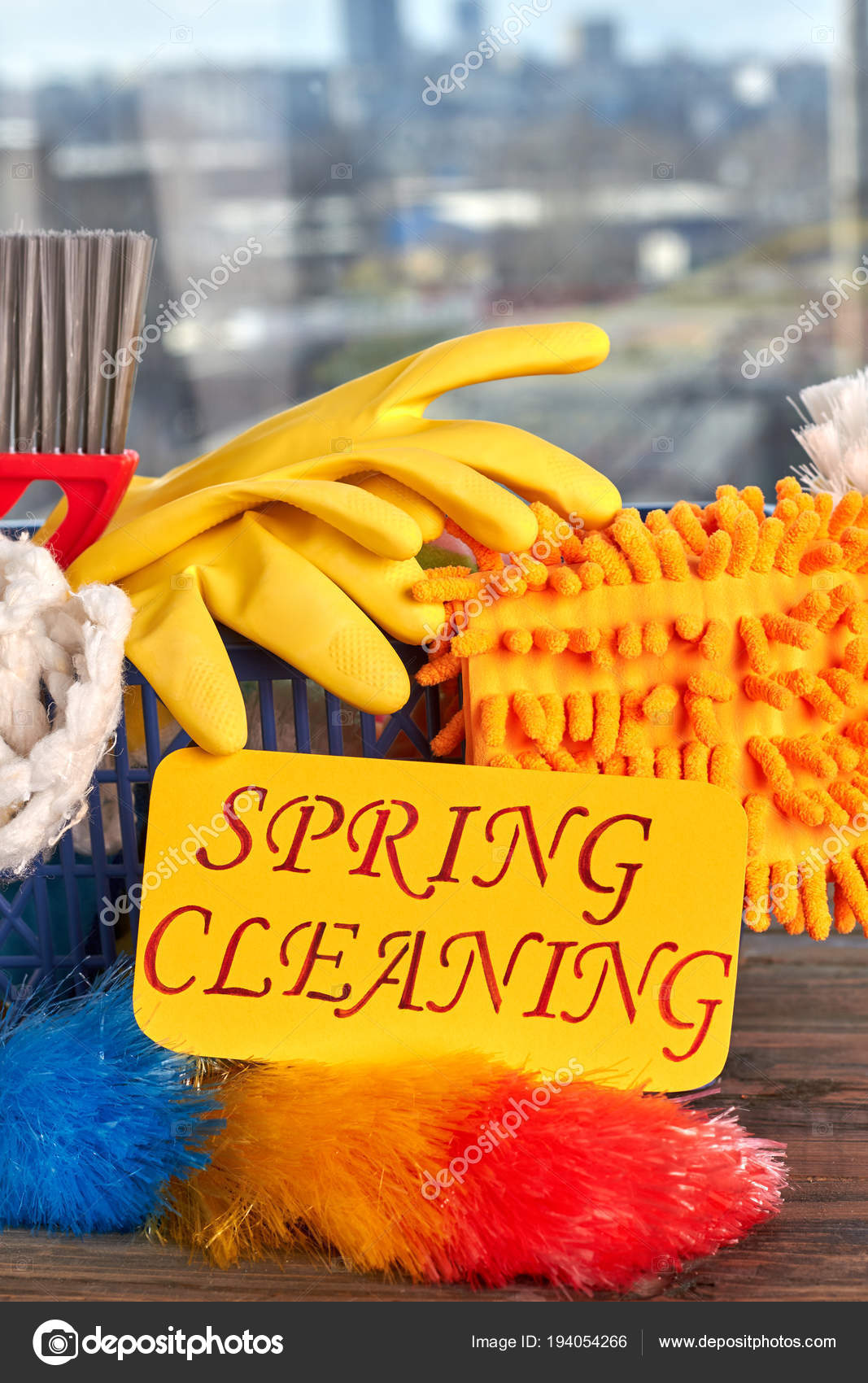 Equipment for house cleaning close up stock photo for House cleaning stock photos