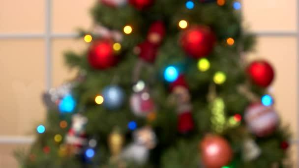 Karácsonyfa életlenítés háttér.