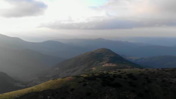 Wild nature mountain landscape.