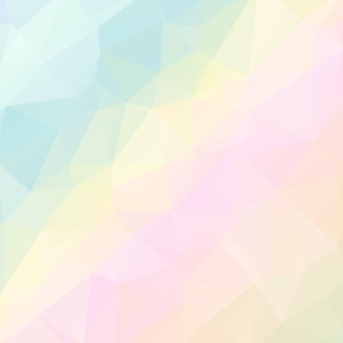 pastel polygonal Mosaic background