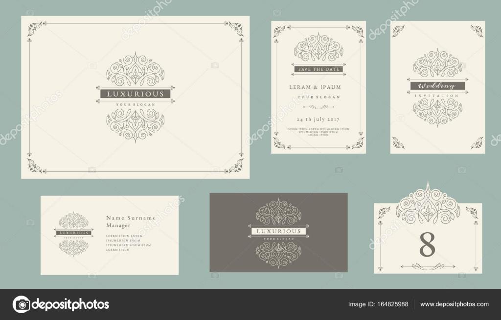 Vintage Schmuck-Set, Zertifikat Rahmen, Visitenkarten ...