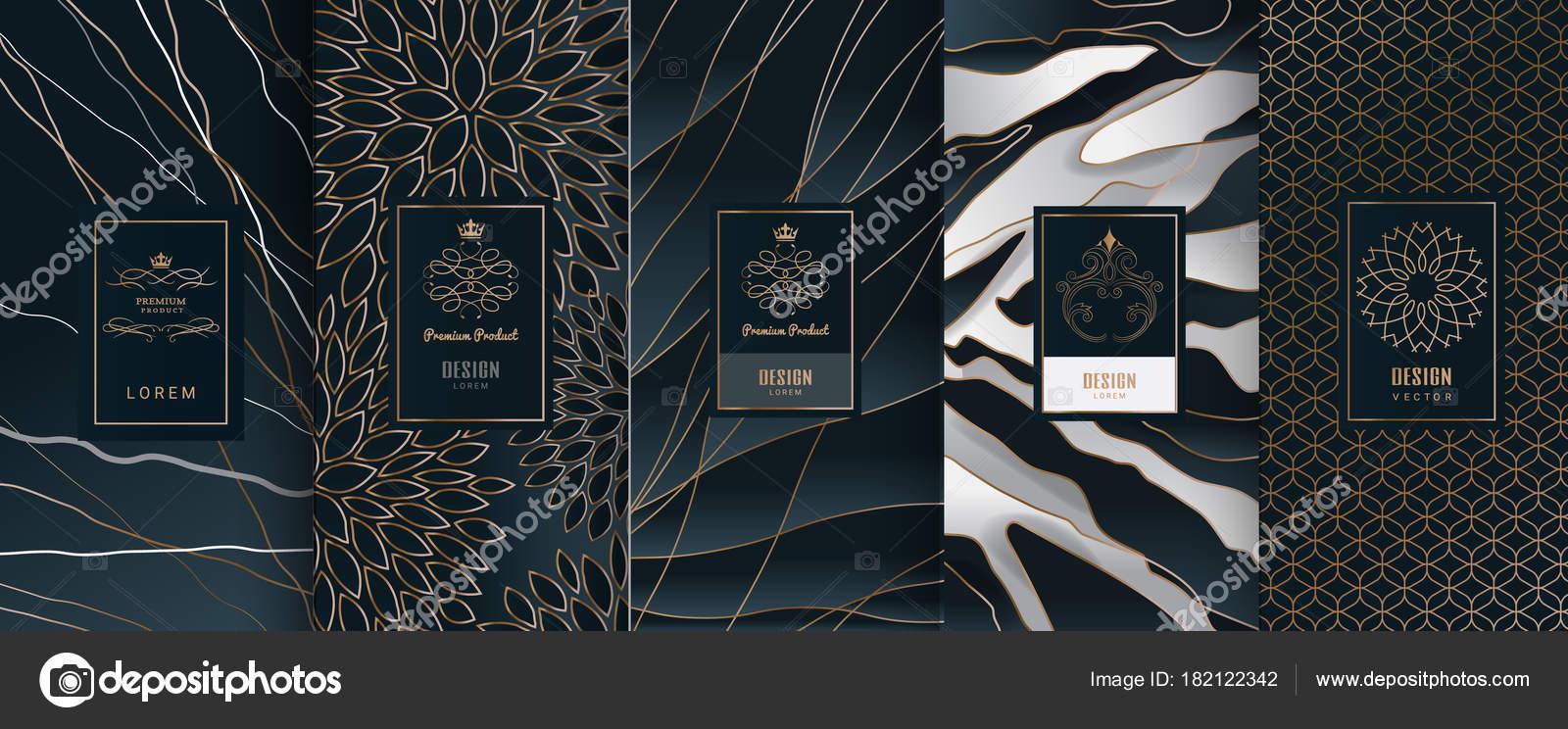 Sammlung von Etiketten, Symbol, Design-Elemente, Rahmen, für ...