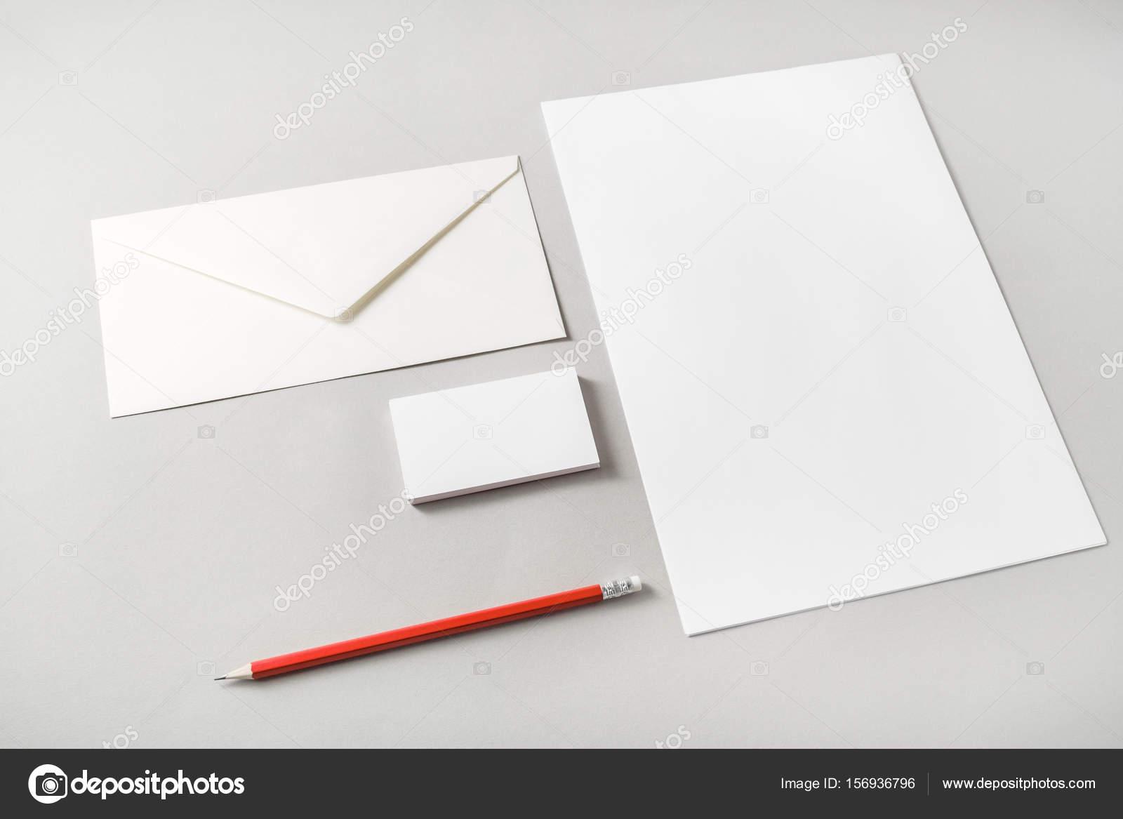 blank stationery template stock photo veresovich 156936796