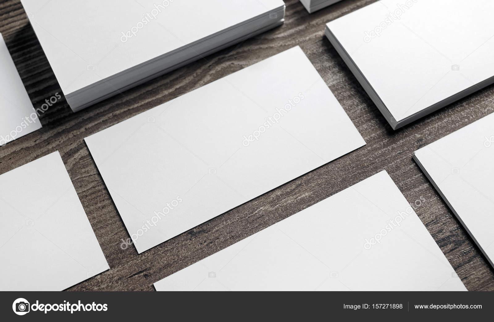 tarjetas en blanco — Fotos de Stock © Veresovich #157271898