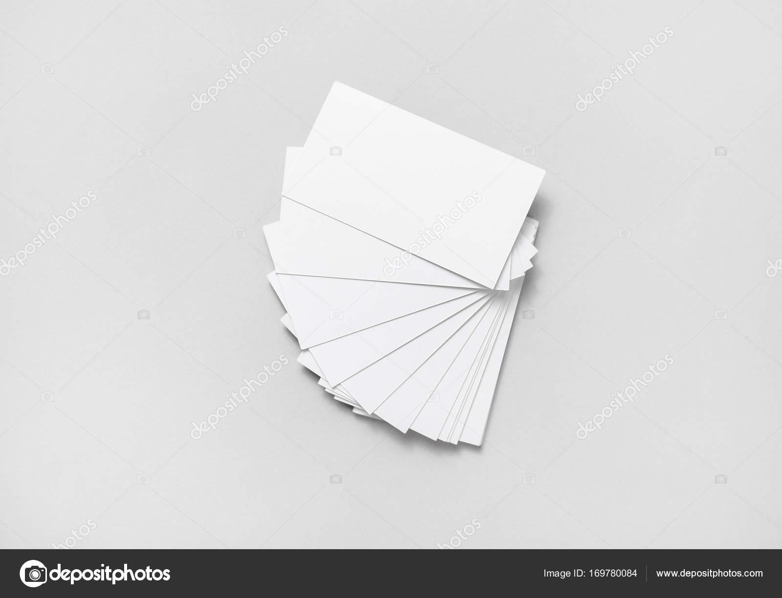 tarjetas en blanco — Foto de stock © Veresovich #169780084