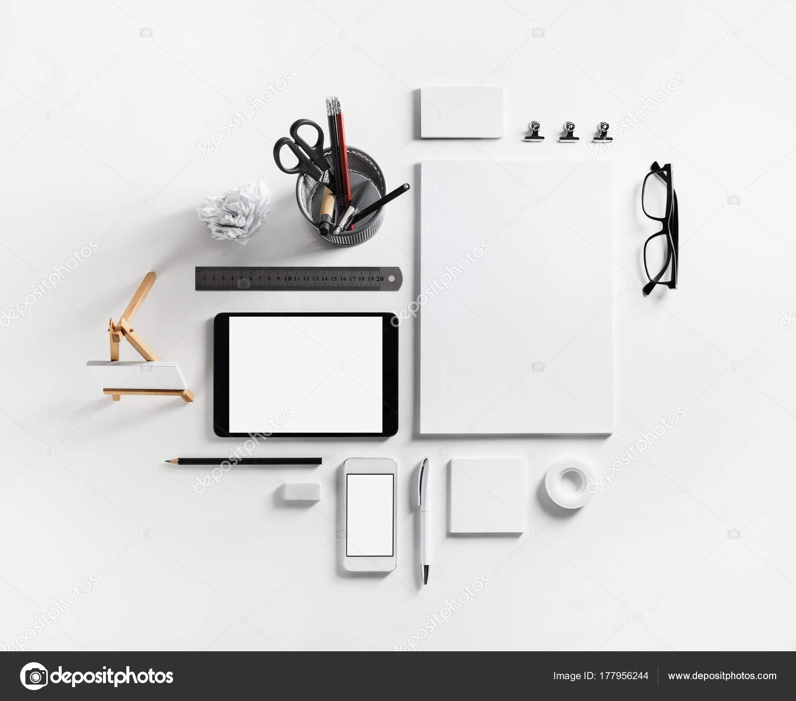 Plantilla de identificación corporativa — Fotos de Stock ...