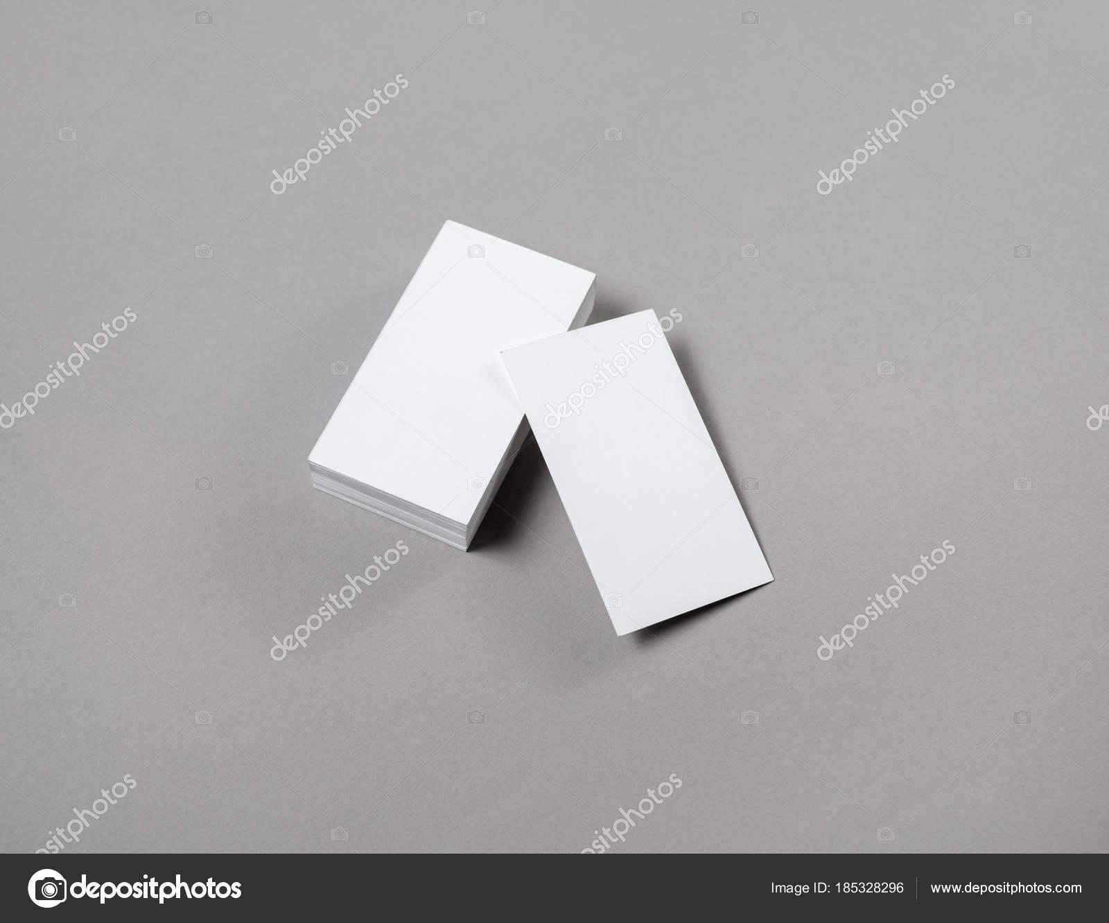 Blank business cards — Stock Photo © Veresovich #185328296