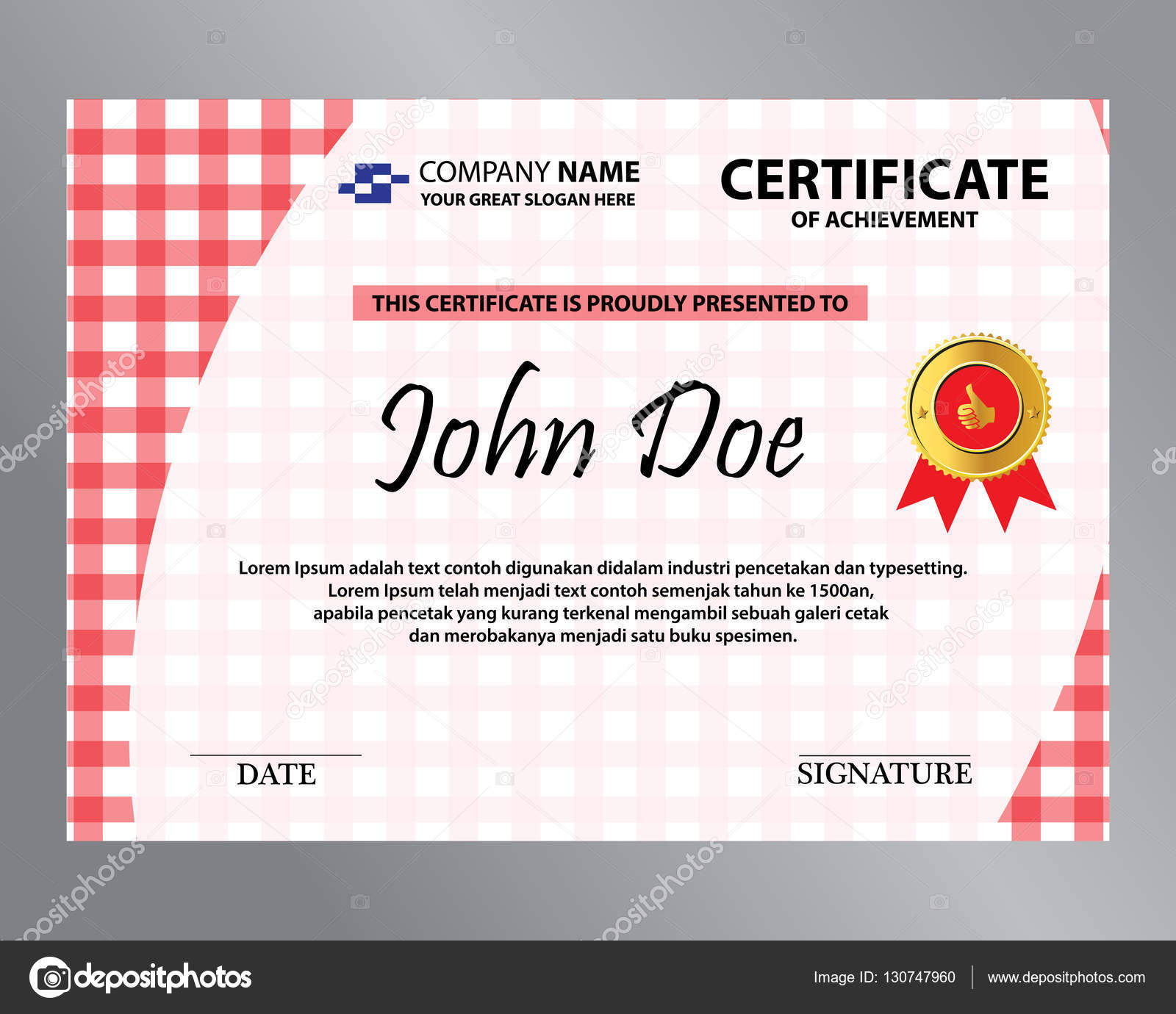 Certificado de praa vermelha vetor de stock rizal99 130747960 certificado de praa vermelha vetor de stock stopboris Images
