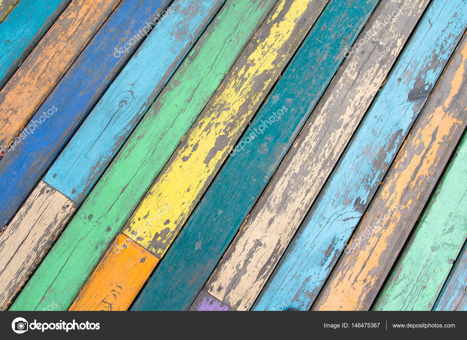 Multi Colored Wooden Floor Boards Backgrounds And Textures