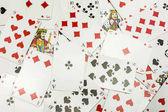 Fényképek Játékkártyák, mint a háttér
